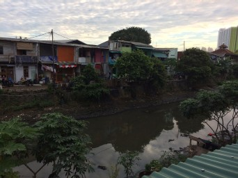 First evening, Tongkol kampung