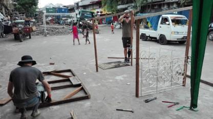 Construction starts