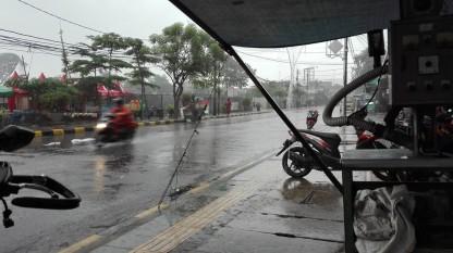 Rain in Jakarta
